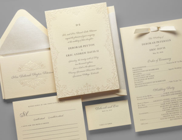 brocade-wedding-invitation-pearl-foil