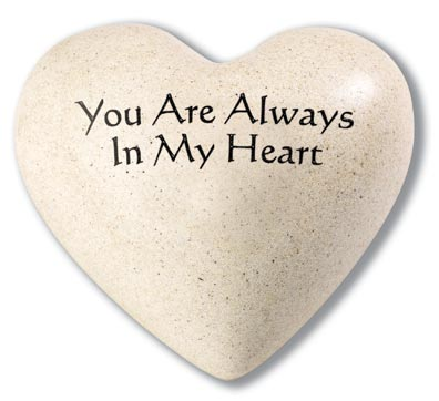 You are always in my hart paper weights