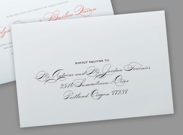 Gay Marriage Wedding Invitations: Addressing Wedding Invitations To Same-sex Couples
