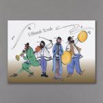 Jewish New Year Band - Holiday Card